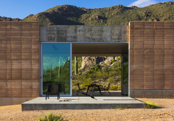 Take In The Mountain Views: Tucson Mountain Retreat by DUST in main architecture  Category