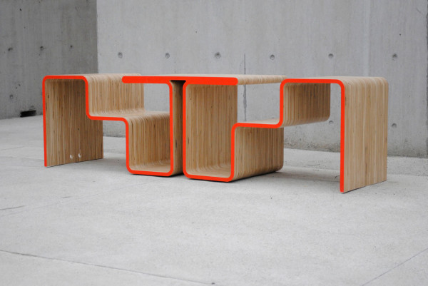 Twofold Bench by After Architecture