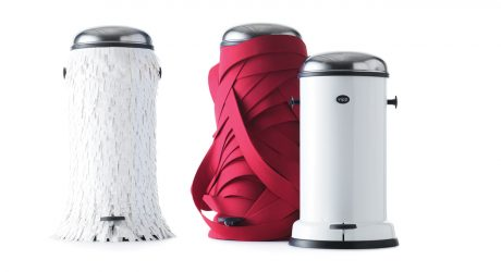 Trashion Bins by Lever Couture for Vipp