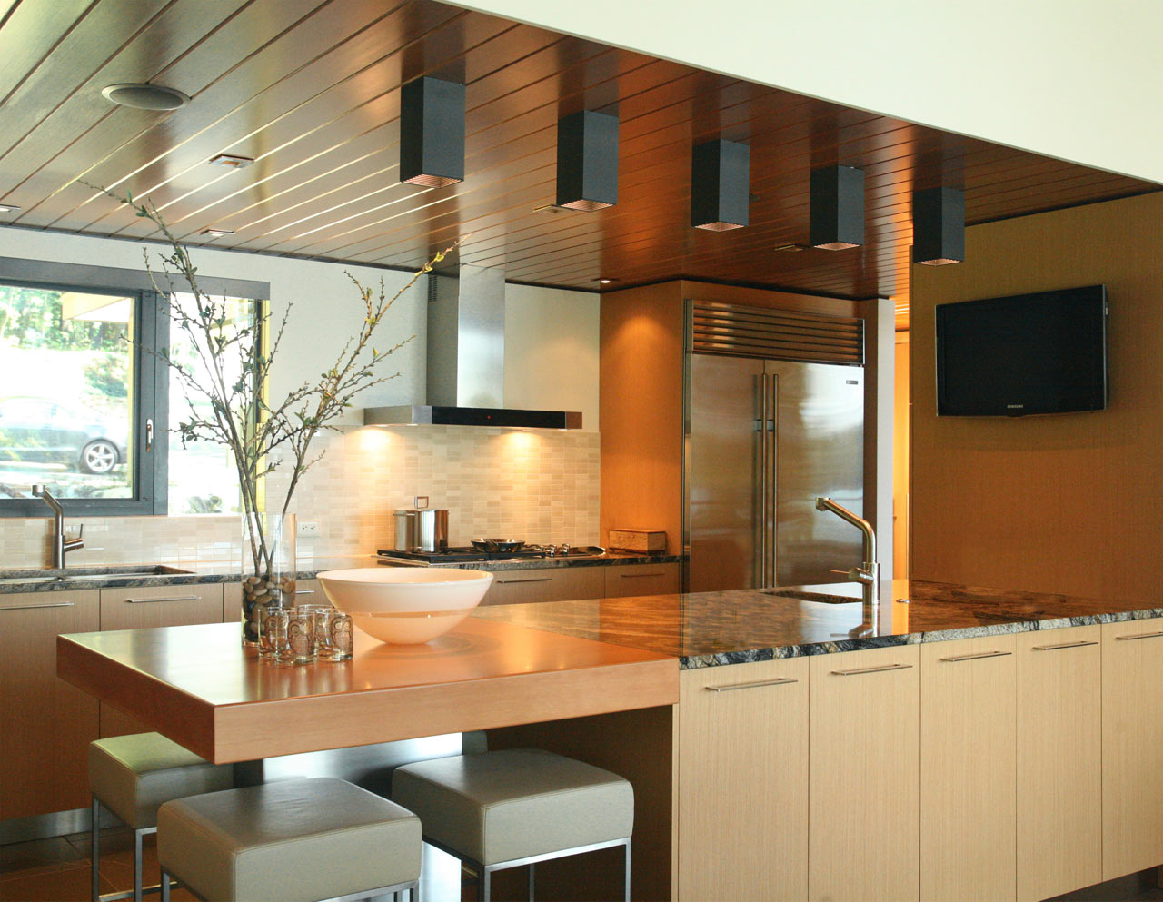 Walloon lake house dudzik 8 kitchen design milk for Lake house kitchen designs