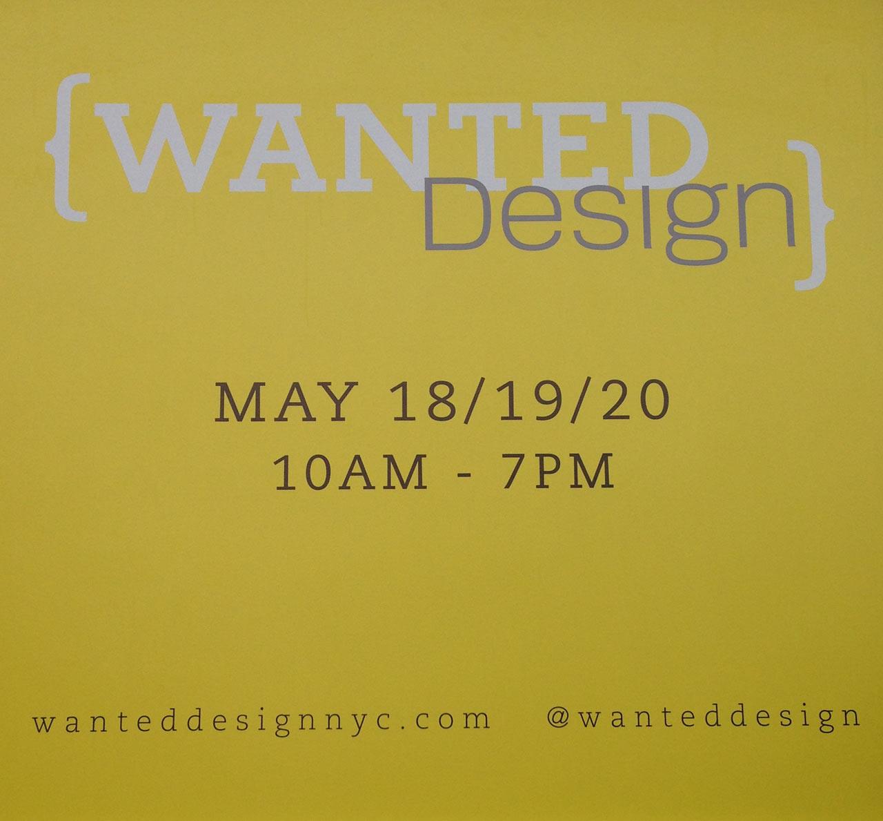 NYCxDesign 2013: WantedDesign Part 1