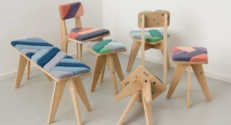 Furniture Made Using Wind by Merel Karhof