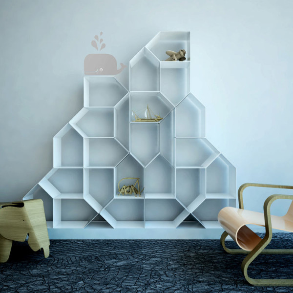 modular bookcase design