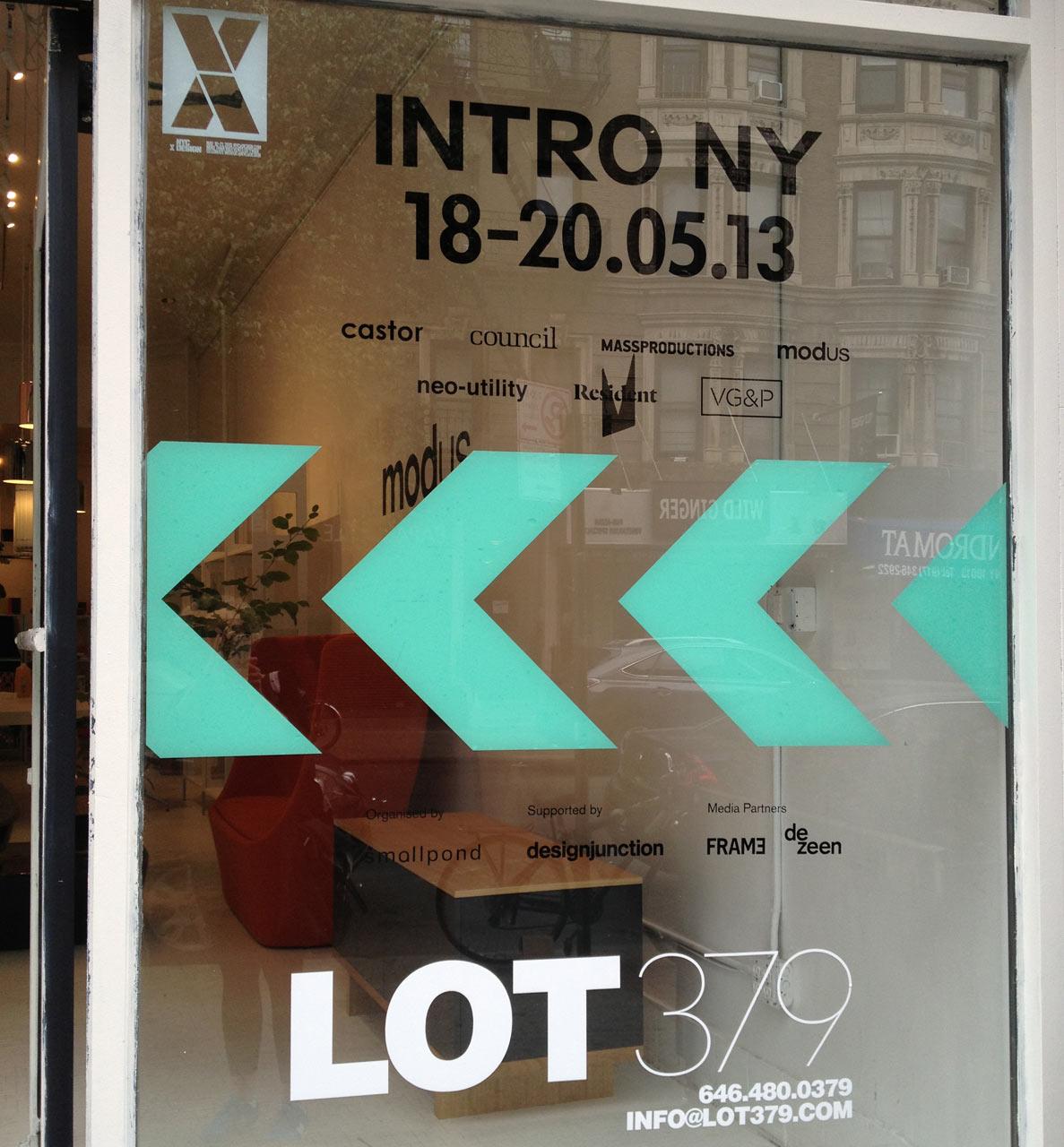 NYCxDesign 2013: INTRO NY
