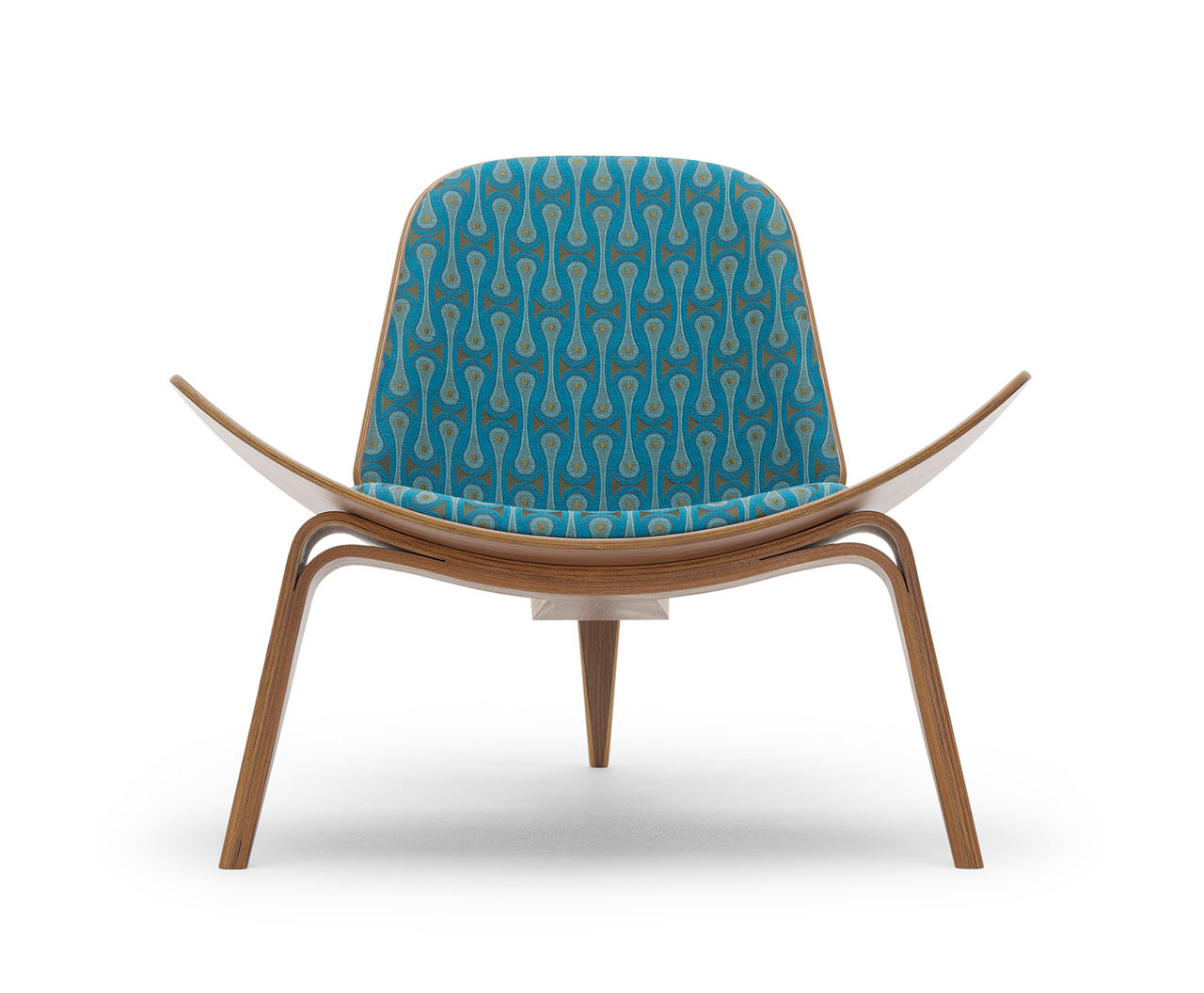 maharam-shell-chair-Design_Peacock