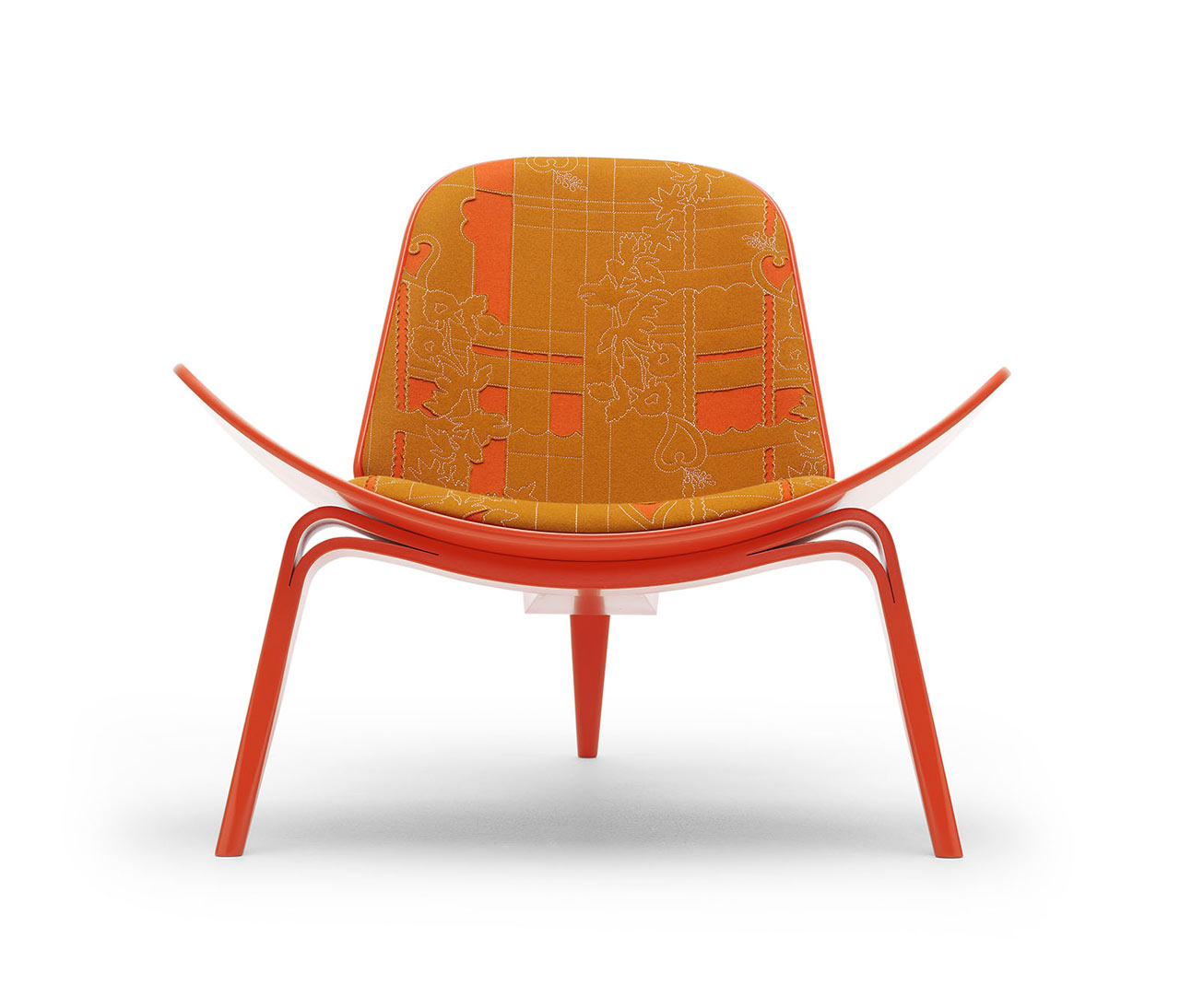 The Maharam Shell Chair Project