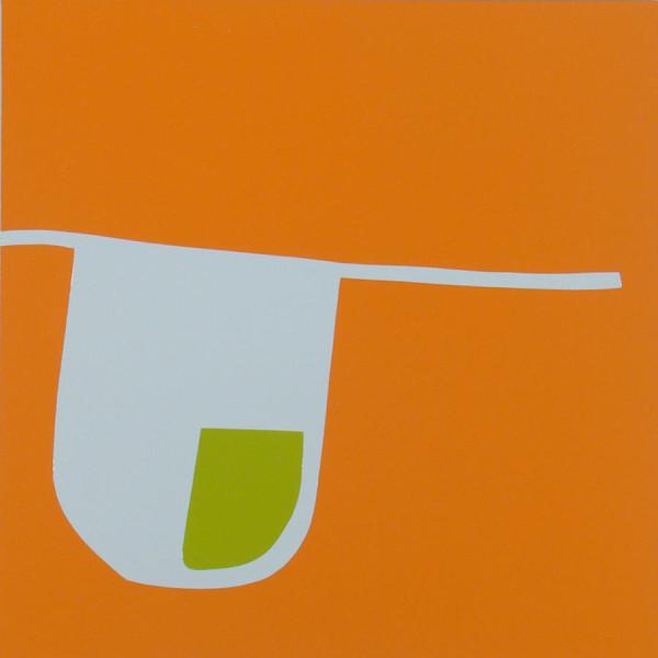 "Tue, Nov 25, 2008, 3:15pm enamel on aluminum panel 12"" x 12"""