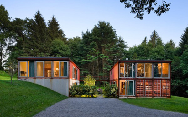 Houses Out Of Storage Containers 12 homes made from shipping containers - design milk