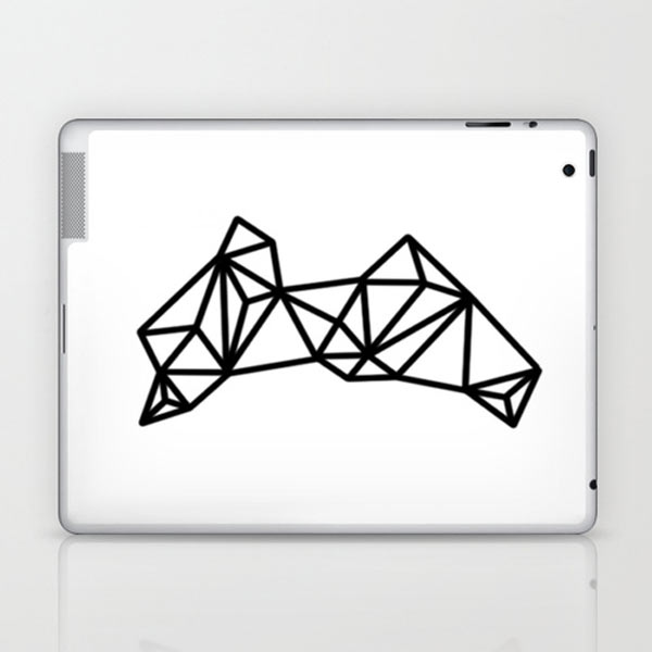 s6-geometric-black-laptop-skin