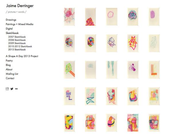 squarespace-screenshot-gallery-sketchbook