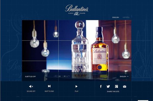 Lee Broom Helps Tell Ballantines 12 Story of Serve in sponsor main home furnishings  Category