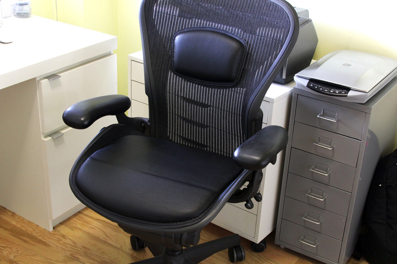 Can The Aeron Chair Be Improved With The u-fo Saddle Collection?