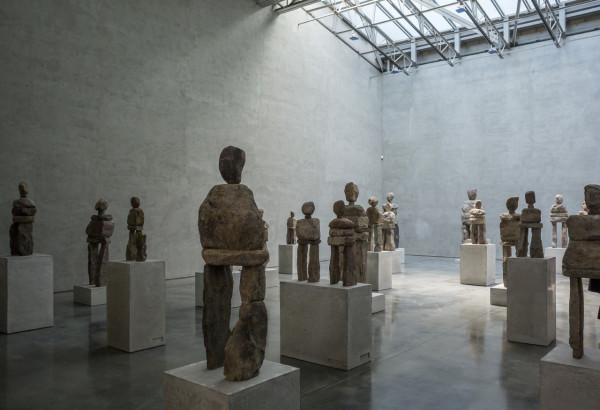 "Ugo Rondinone ""soul"". Installation view: Gladstone Gallery, New York"