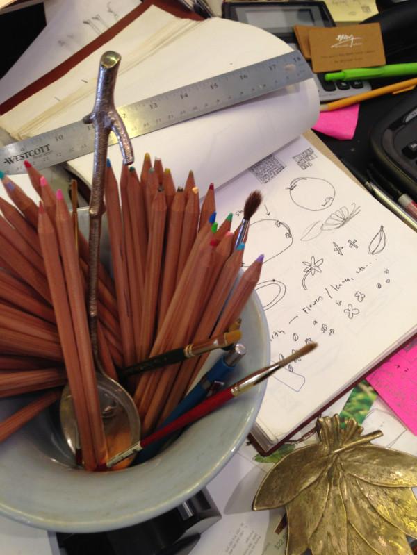 work-aram-pencils-sketchbook