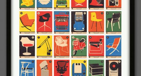 Vintage-Style A to Z Prints by 67 Inc