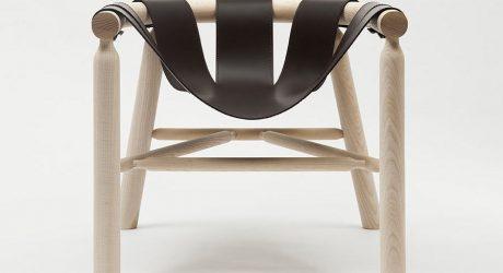 NINNA Armchair by Carlo Contin for Adentro