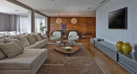 Sleek, Warm Interior: Apartment LA by David Guerra