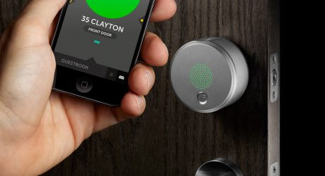 August Smart Lock Turns Your Phone Into House Keys