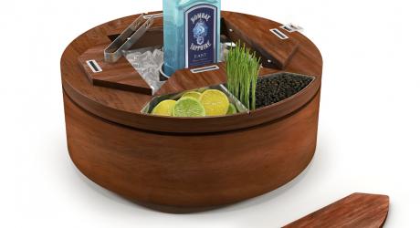 Bombay Sapphire East Gin Wheel by AvroKO