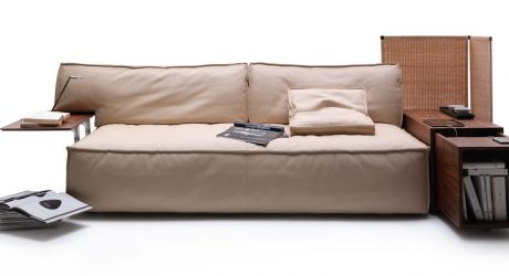 Vita Sofa By Mauro Lipparini For Bonaldo Design Milk