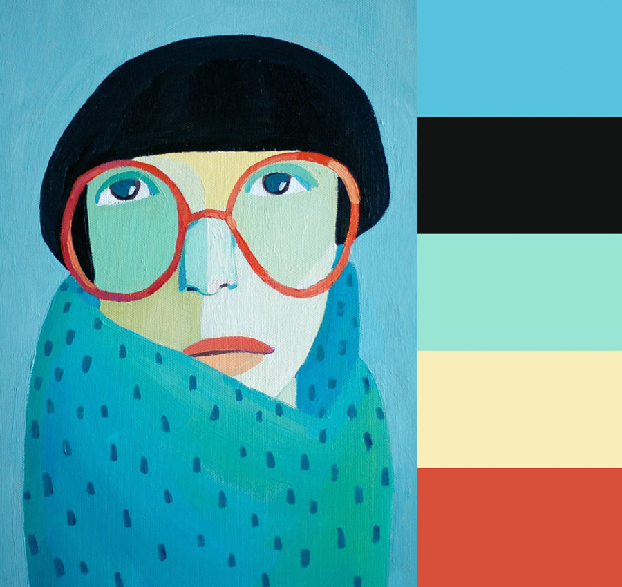 Jenny Meilihove's Quirky Portraits