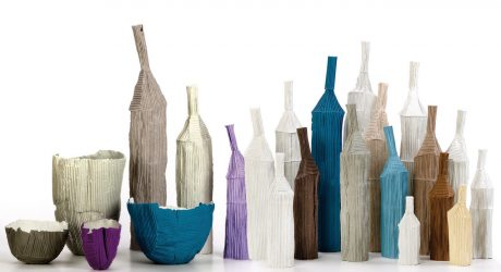 Cartocci Paper Clay Objects by Paola Paronetto
