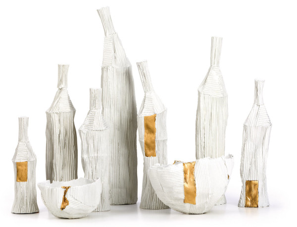 Cartocci Paper Clay Objects by Paola Paronetto in main home furnishings art  Category