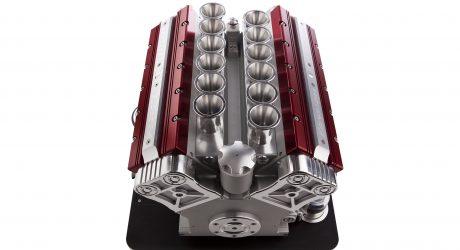 Engine-Inspired V12 Espresso Machine by Espresso Veloce