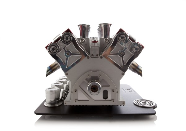 Engine Inspired V12 Espresso Machine by Espresso Veloce in main home furnishings  Category
