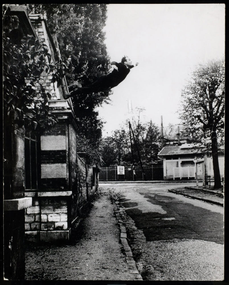 Photo by Yves Klein, via the archives