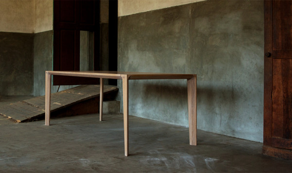 modern wooden table by GUD Conspiracy