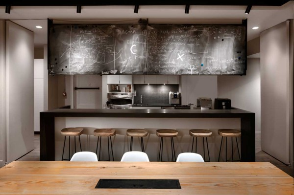 office kitchen design ideas. ICRAVE Office 8 Kitchen Chalkboard A Space That Encourages Collaboration  S NYC Design Milk