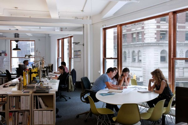 A Space That Encourages Collaboration: ICRAVEs NYC Office in main interior design architecture  Category