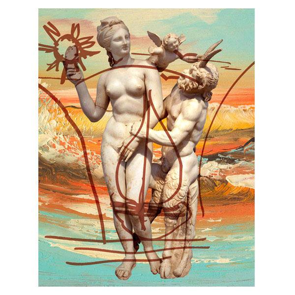 "JEFF KOONS ""Antiquity 1"" 2009-2012. Oil on canvas. © Jeff Koons. Courtesy Gagosian Gallery."