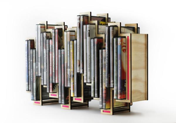 Levels-DVD-Holder-Shift-3  sc 1 st  Design Milk & Blu-ray u0026 DVD Holder Inspired by Music Levels - Design Milk