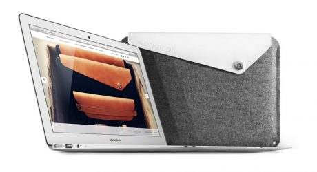 Sleek Leather and Felt Tech Cases by Mujjo