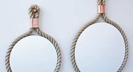 Copper & Rope: CR Mirrors by Miles Dexter