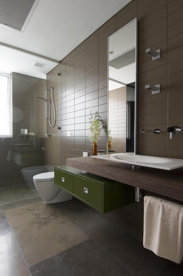 Marvelous Minosa Design Portland St bathroom