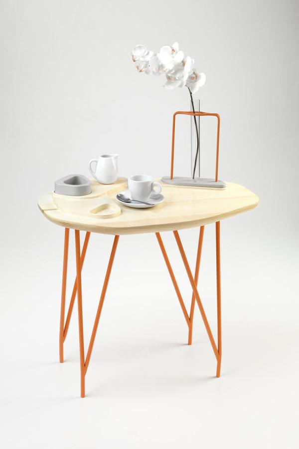 NVDRS Gergeti Modern Coffee Table Wood