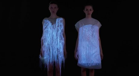(NO)WHERE (NOW)HERE: Interactive Dresses by Ying Gao