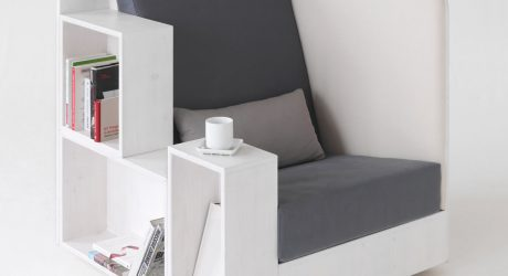 Open Book Chair by TILT