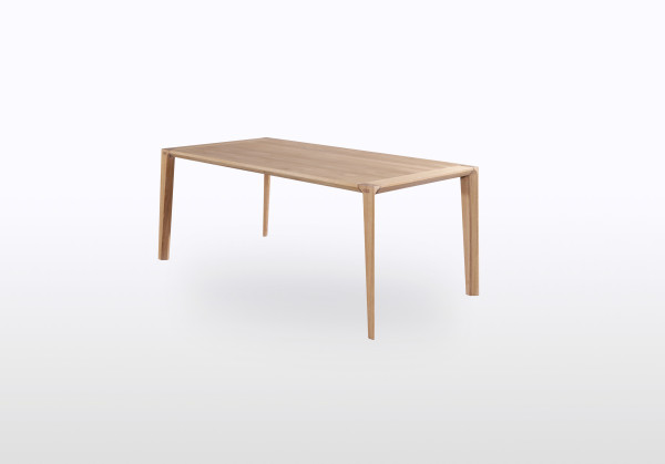 minimalist french oak table