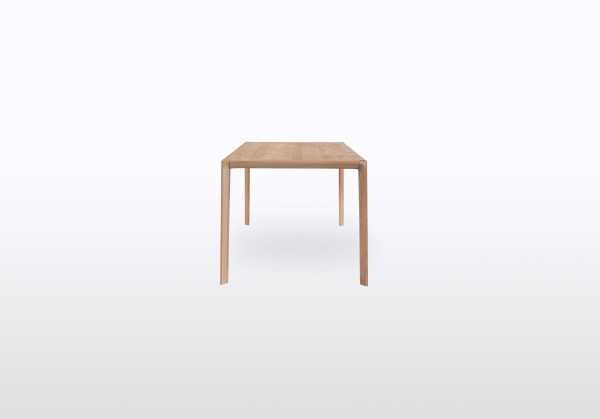 simple wooden dining table