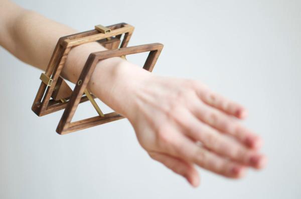 Sticks+Stones Walnut & Brass Jewelry by Simone Ferkul in style fashion main  Category