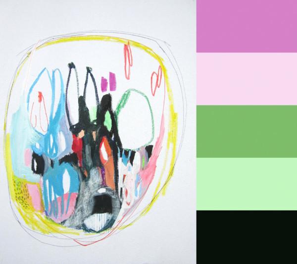 Lola Donoghues Abstract Artwork in main art  Category