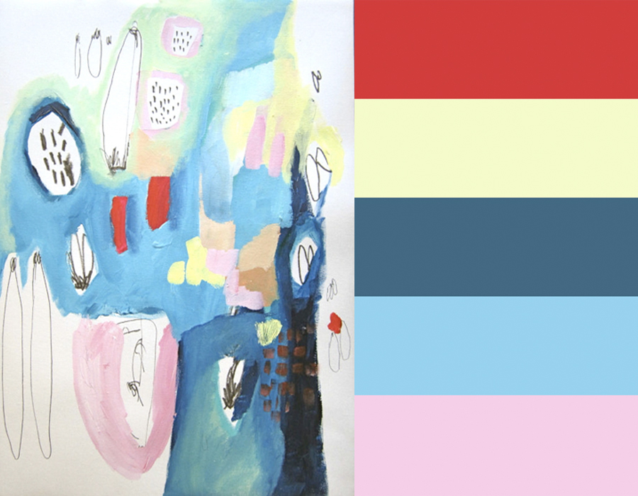 Lola Donoghue's Abstract Artwork