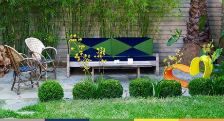 A Trio of Colorful Outdoor Spaces