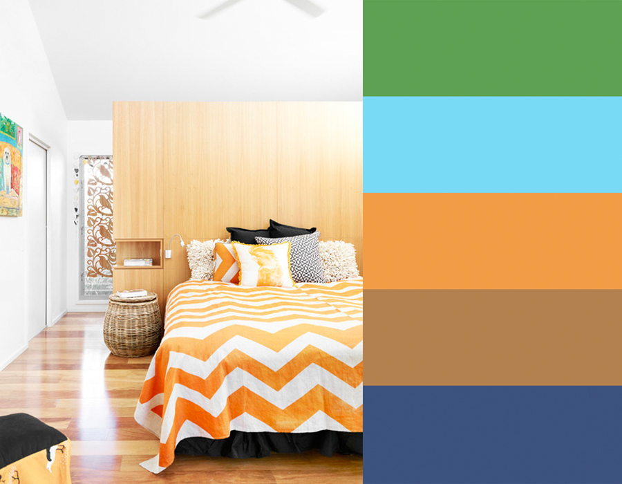 Bedrooms Photographed by Toby Scott