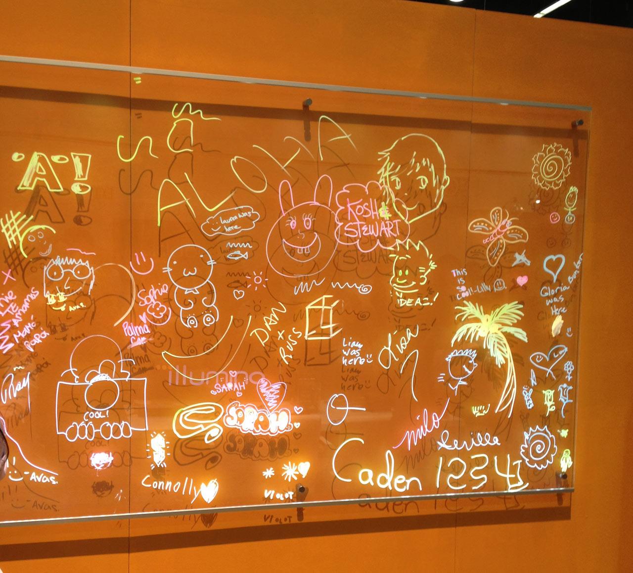 illumino-lightboard