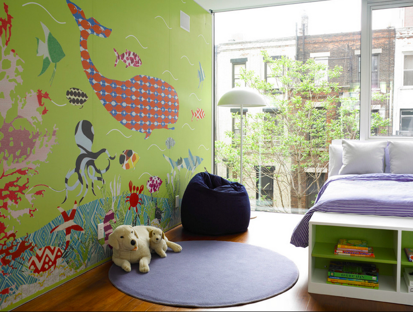 12 kids rooms that make us want to go back in time - design milk